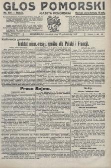 Głos Pomorski. 1922, nr101