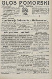 Głos Pomorski. 1922, nr102