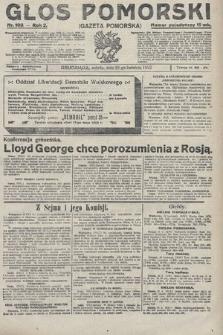 Głos Pomorski. 1922, nr103