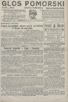 Głos Pomorski. 1922, nr104