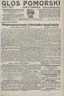 Głos Pomorski. 1922, nr105