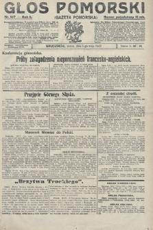 Głos Pomorski. 1922, nr107