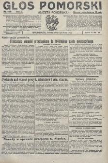 Głos Pomorski. 1922, nr108