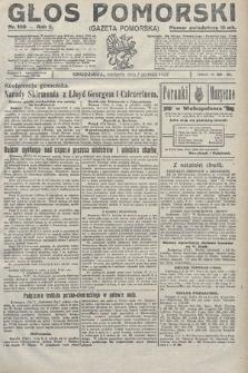 Głos Pomorski. 1922, nr109