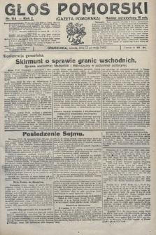 Głos Pomorski. 1922, nr114