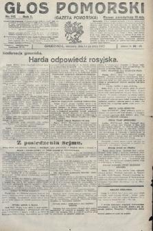 Głos Pomorski. 1922, nr115