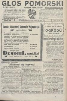 Głos Pomorski. 1922, nr121