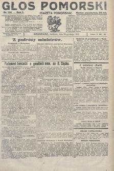 Głos Pomorski. 1922, nr126