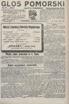 Głos Pomorski. 1922, nr127