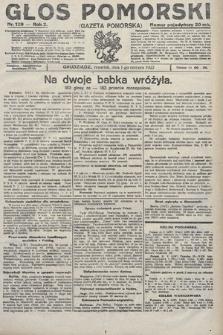 Głos Pomorski. 1922, nr129