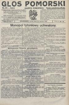Głos Pomorski. 1922, nr131