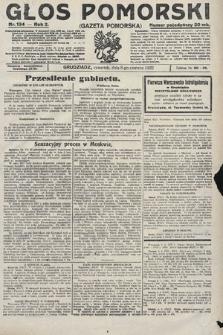Głos Pomorski. 1922, nr134