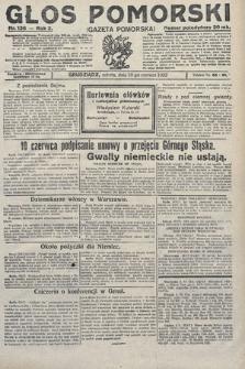 Głos Pomorski. 1922, nr136