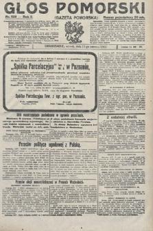Głos Pomorski. 1922, nr138