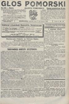 Głos Pomorski. 1922, nr140