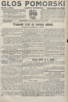 Głos Pomorski. 1922, nr145