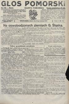 Głos Pomorski. 1922, nr146