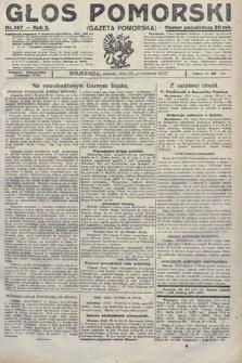 Głos Pomorski. 1922, nr147