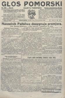 Głos Pomorski. 1922, nr149