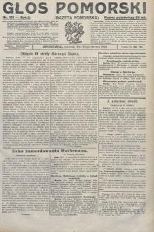 Głos Pomorski. 1922, nr151