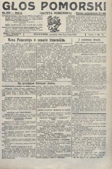 Głos Pomorski. 1922, nr153