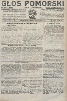 Głos Pomorski. 1922, nr156