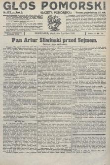 Głos Pomorski. 1922, nr157