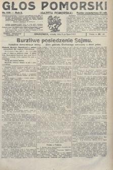 Głos Pomorski. 1922, nr158