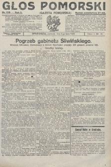 Głos Pomorski. 1922, nr159