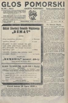 Głos Pomorski. 1922, nr160