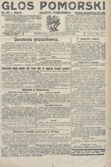 Głos Pomorski. 1922, nr161