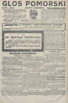 Głos Pomorski. 1922, nr162
