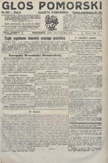 Głos Pomorski. 1922, nr163