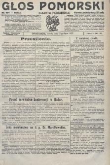 Głos Pomorski. 1922, nr164