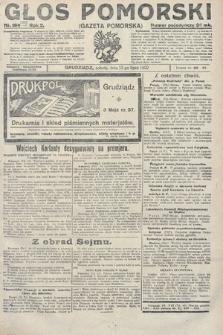 Głos Pomorski. 1922, nr165