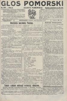 Głos Pomorski. 1922, nr168