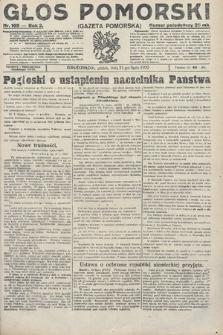 Głos Pomorski. 1922, nr169