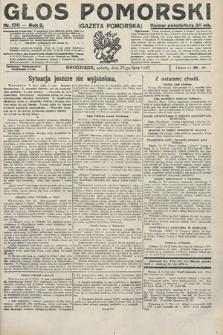 Głos Pomorski. 1922, nr170