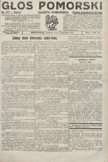 Głos Pomorski. 1922, nr171