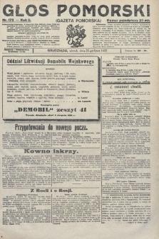 Głos Pomorski. 1922, nr172