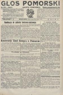 Głos Pomorski. 1922, nr173