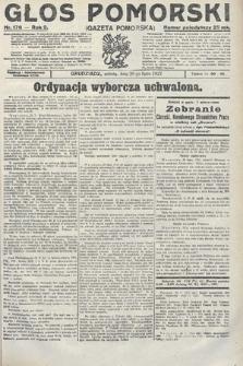 Głos Pomorski. 1922, nr176
