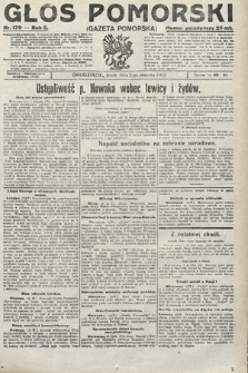Głos Pomorski. 1922, nr179