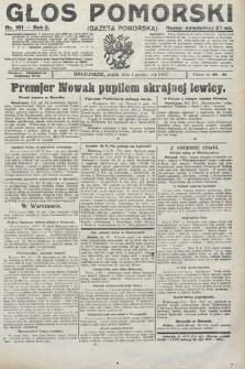 Głos Pomorski. 1922, nr181