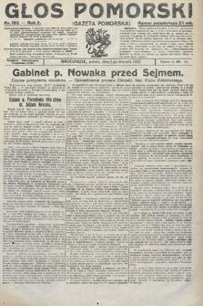 Głos Pomorski. 1922, nr182