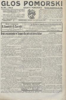 Głos Pomorski. 1922, nr183