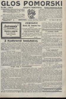 Głos Pomorski. 1922, nr186