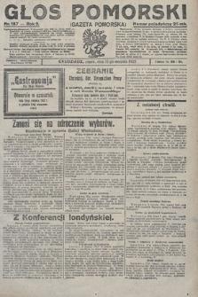 Głos Pomorski. 1922, nr187