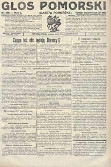 Głos Pomorski. 1922, nr188