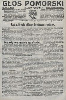 Głos Pomorski. 1922, nr189